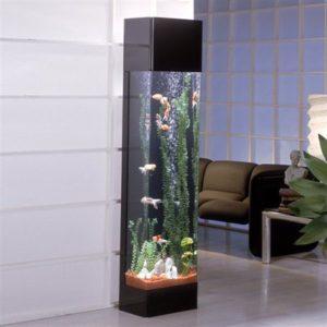 Are tower column aquariums a good choice aquatics world for Column fish tank