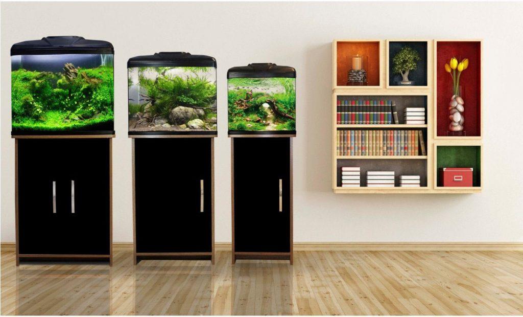 6e0f9b508de The AquaVue Aquarium Range – 380 – 480 – 580. This Aqua One fish tank ...