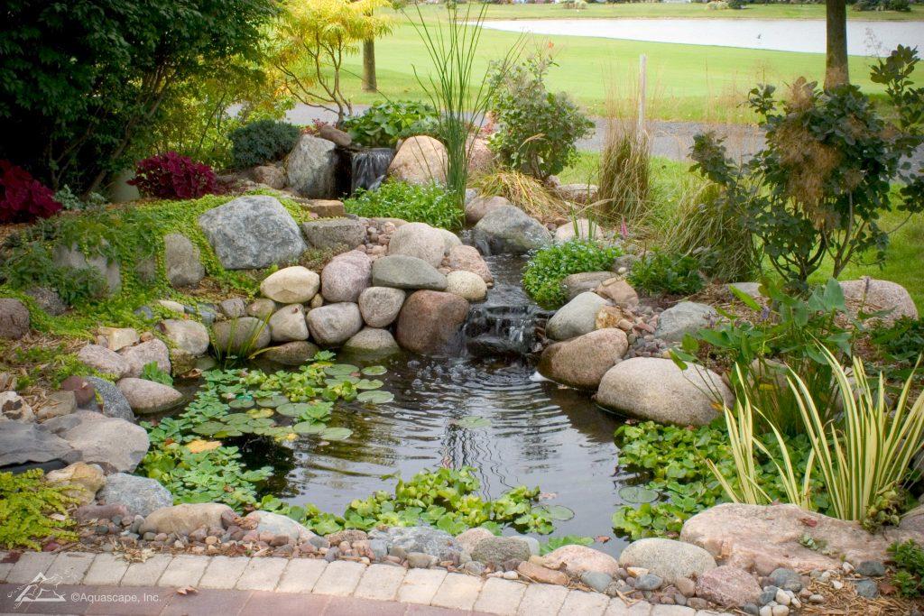 nice garden pond kit